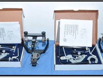 Articulators with face bow