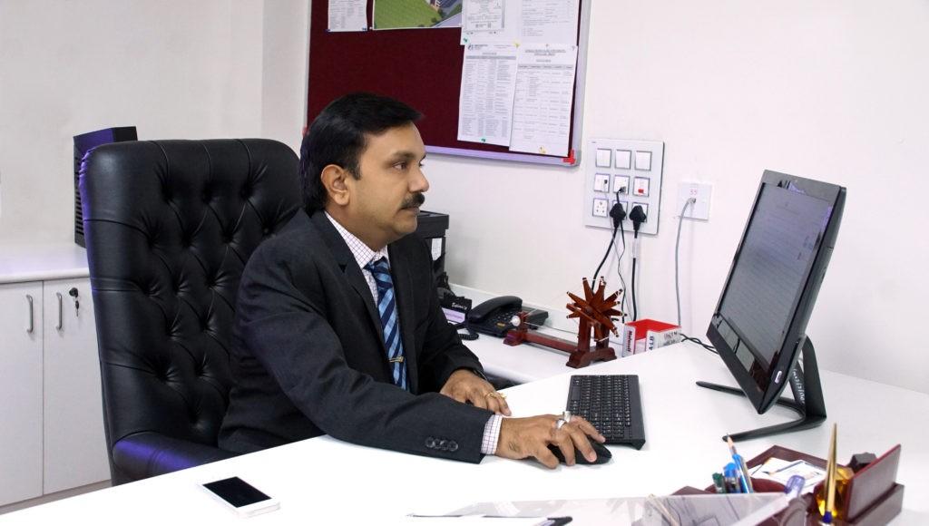 Prof.(Dr.) V. K. Srivastava (Provost, SPU)