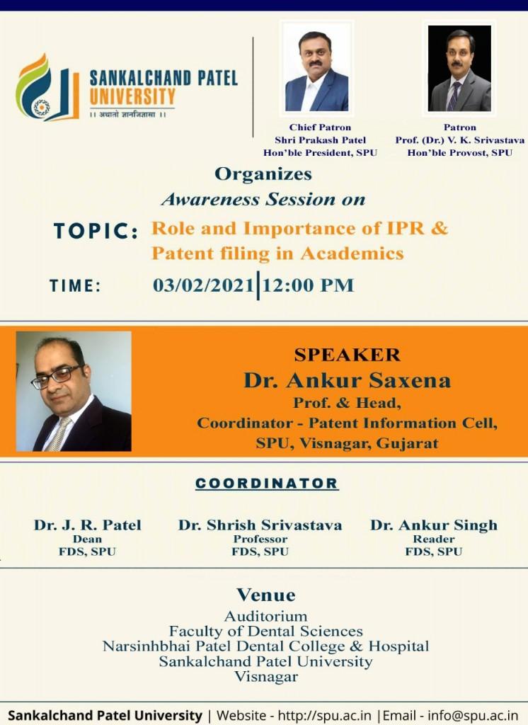 Patent Awareness Seminar