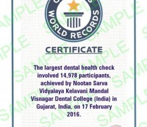 GWR Certificate
